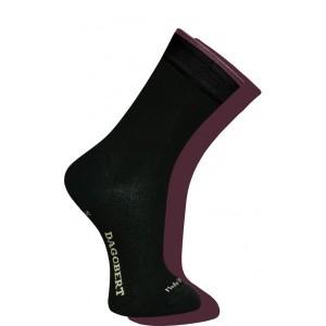 Chaussettes Adulte Réversibles Noir/Mauve
